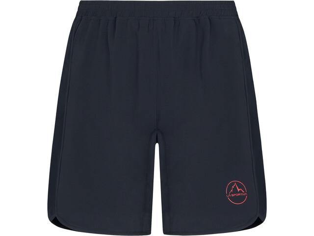 La Sportiva Zen Shorts Mujer, negro/rojo